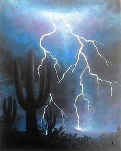 236x294 This Show How To Paint Lightning For Beginners In Acrylic