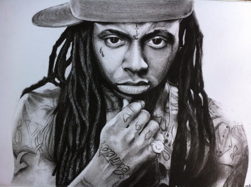 960x717 Lil Wayne Drawing By Phop By Tosakun