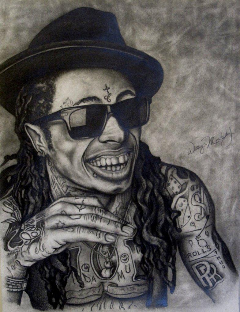 784x1018 Lil Wayne Drawing By Waynemaribitojr