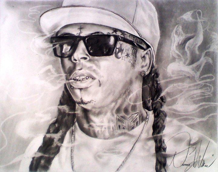 720x567 Lil Wayne By Dwalkerart
