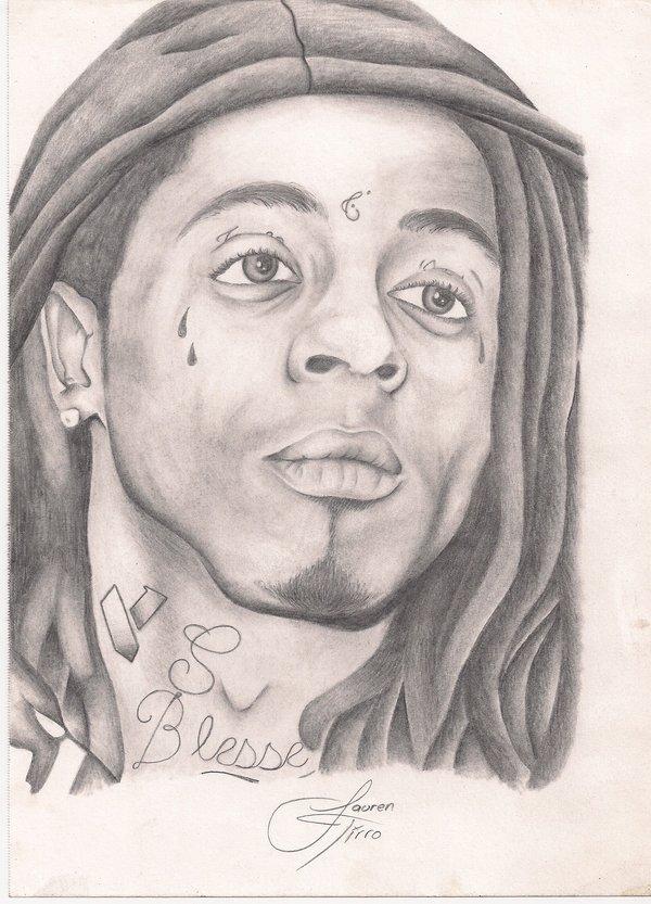 600x833 Lil Wayne By Laurentirroart