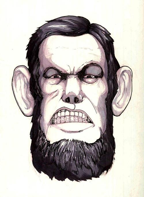 500x685 Magnificent Abraham Lincoln Artworks Naldz Graphics