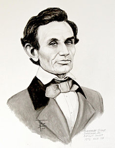 234x300 Abraham Lincoln Drawing Paintings Fine Art America