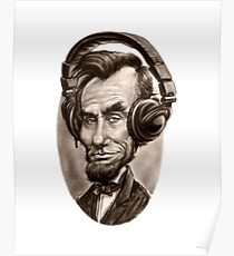 210x230 Funny Abraham Lincoln Drawing Posters Redbubble