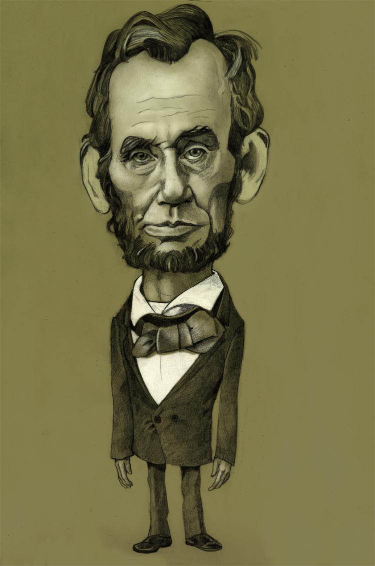 750x1131 Lincoln Drawing Zach Franzen