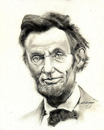 350x436 President Abraham Lincoln