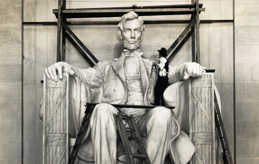 900x572 Historic Photos Of The Lincoln Memorial