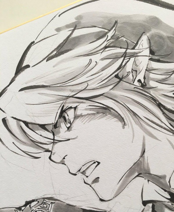 Link And Zelda Drawing at GetDrawings | Free download