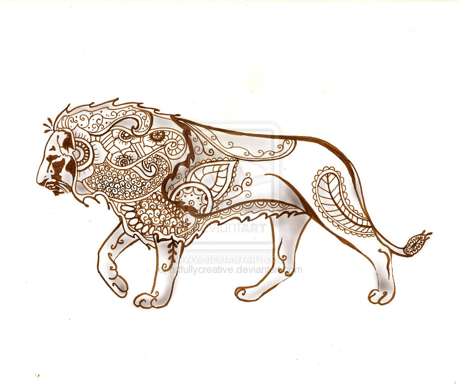 900x762 Collection Of Lion Cub Tattoo Sample