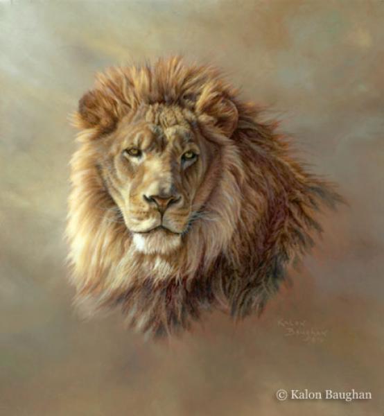 554x600 Lion With Cub