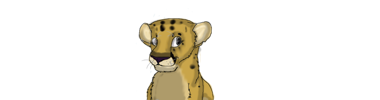 1326x351 Mountain Lion Cub How I Draw It By Roguedoodler