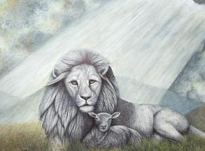 293x216 The Lion And The Lamb'