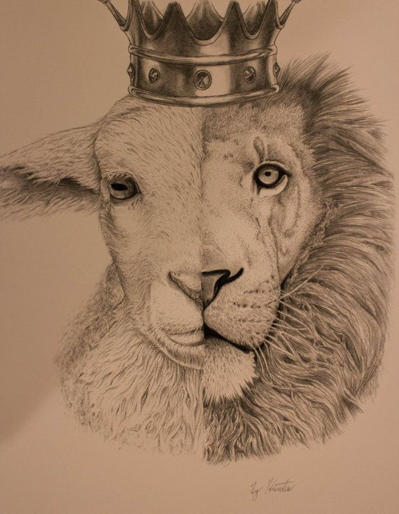 570x734 The Lion And The Lamb Tattoo Ideas About Lion And Lamb