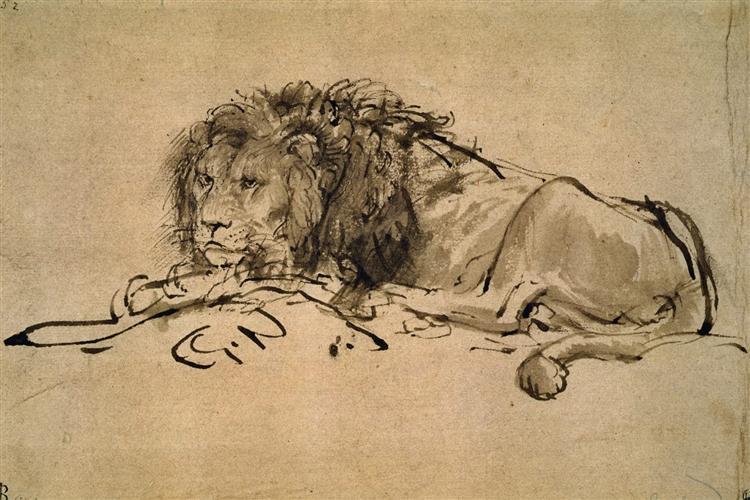 750x500 Lion Resting, 1650