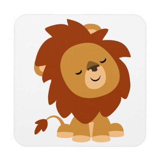 512x512 Cute Cartoon Lions Cute Peaceful Cartoon Lion Animal Is So