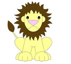 250x226 Easy To Draw Cartoon Lion