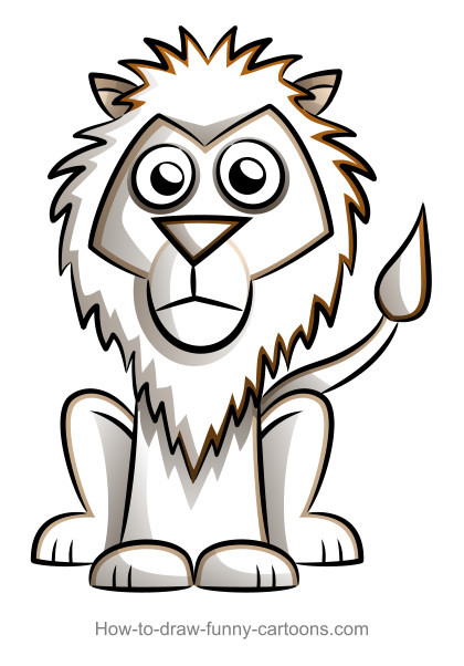 420x602 lion drawings sketching vector