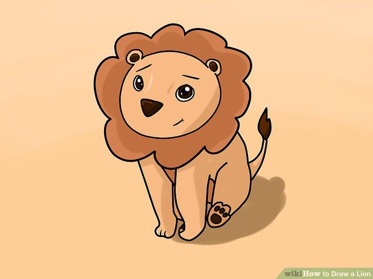728x546 4 Ways To Draw A Lion