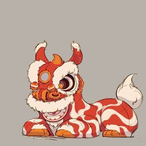 474x474 The Seventh Lion, Character Design That Depicts The Chinese