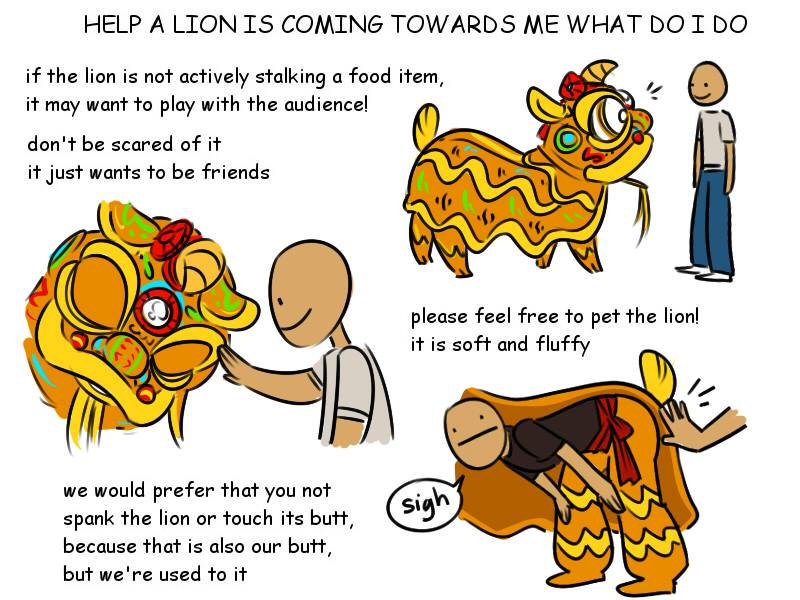 800x600 What To Do When A Lion Is Coming Toward You During A Lion Dance