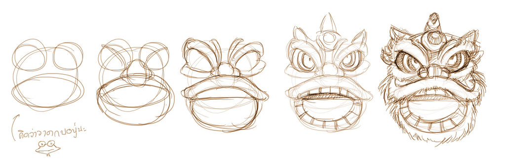 1023x322 Step By Step Chinese Dancing Lion Head By Pandabaka