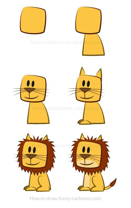 500x791 Drawing A Lion Lions, Tutorials And Draw