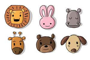 300x200 How To Draw Animals For Kids