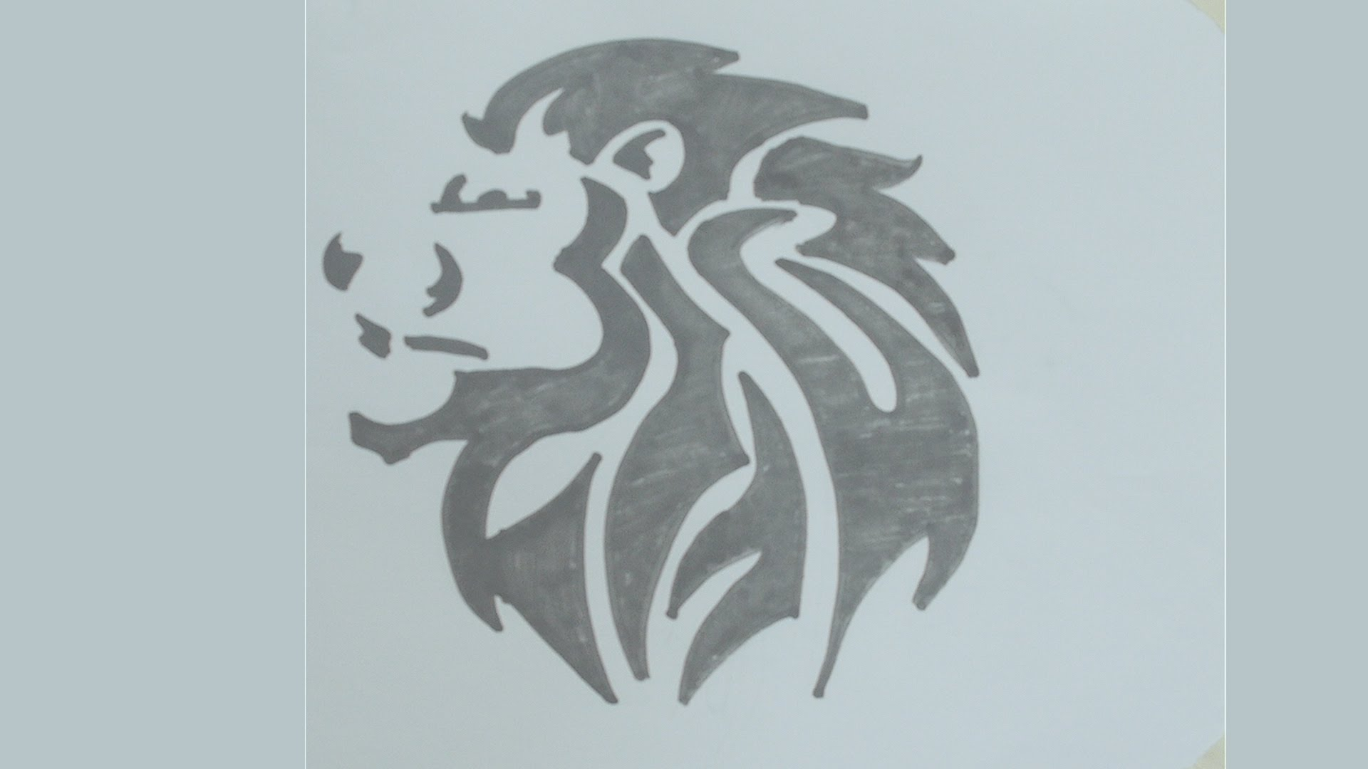 1920x1080 How To Draw Lion Head Tattoo