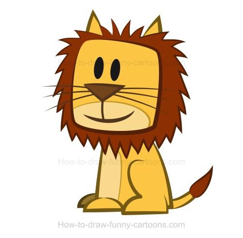 500x489 A Lion