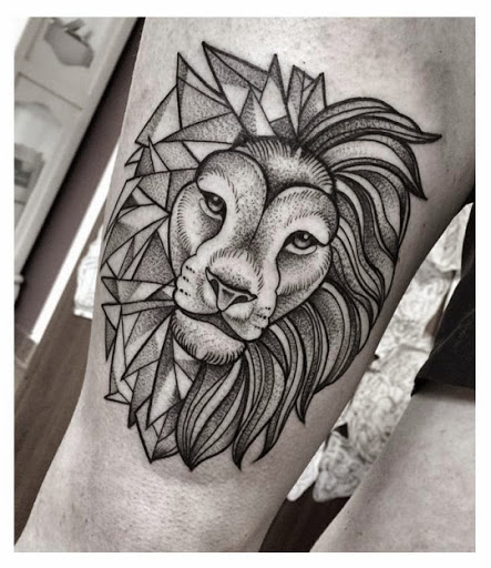 443x512 55 Brilliant Lion Tattoos Designs And Ideas