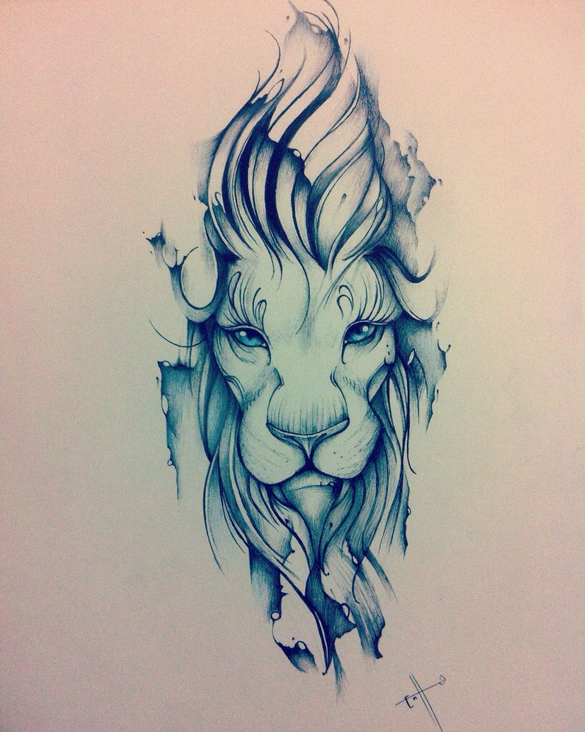 819x1024 Edson Tovar Lion, The King. My Tattoo Design.