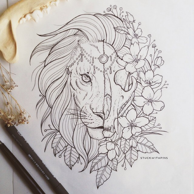 640x640 Lovin' This Current Tattoo Design I'M Working On For A Client
