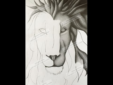 Lion Face Drawing Easy at GetDrawings com | Free for personal use