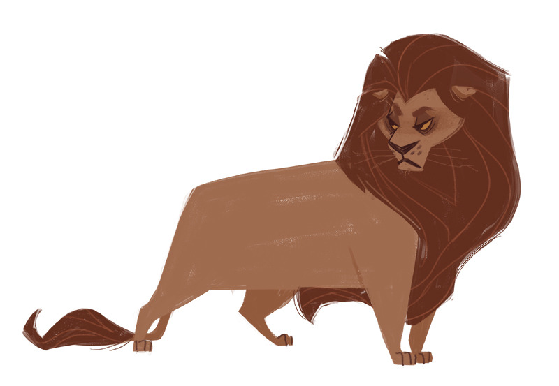 800x553 Daily Cat Drawings 453 Lion Whenever I Hit An Art Slump Drawing