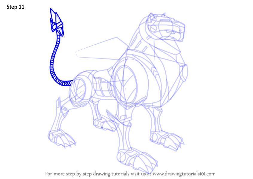 846x600 Learn How To Draw Black Lion From Voltron