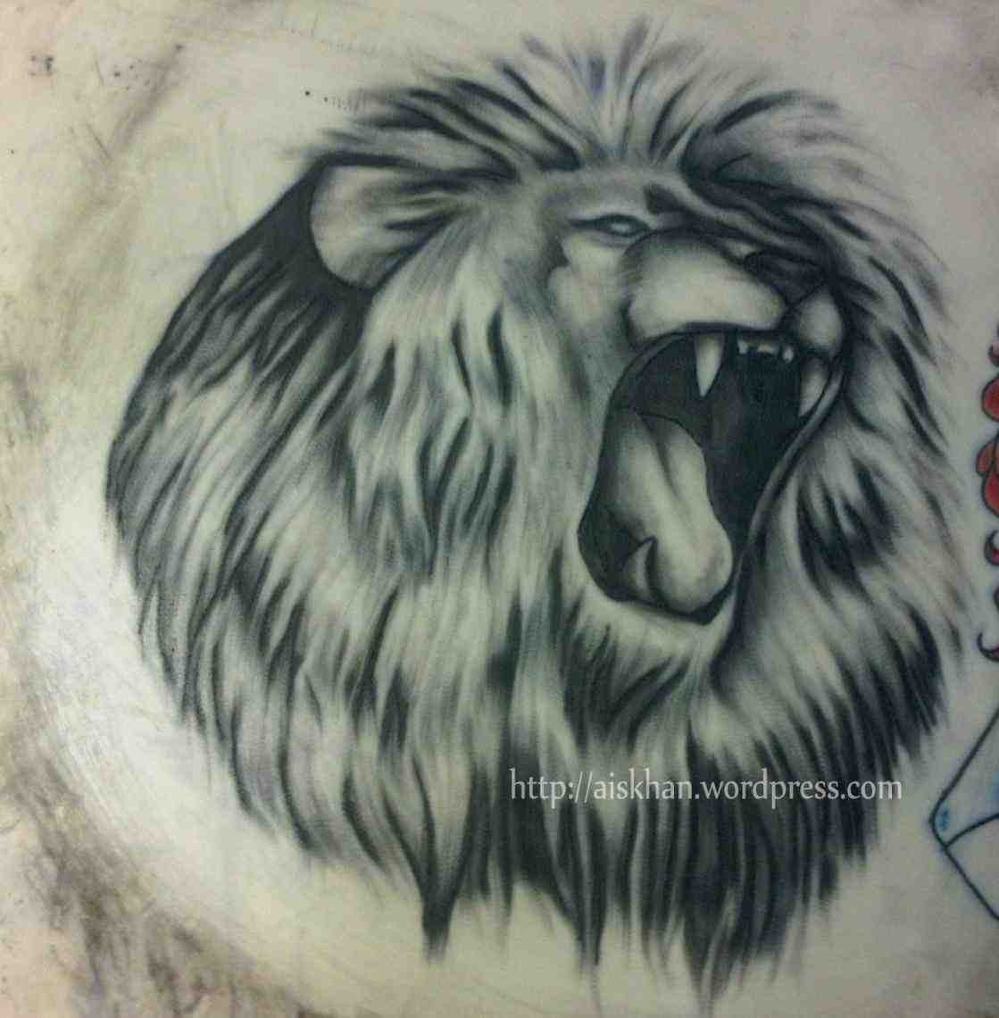 1119x1140 Realistic Lion Drawing Realistic Lion 17 Realistic Lion Coloring