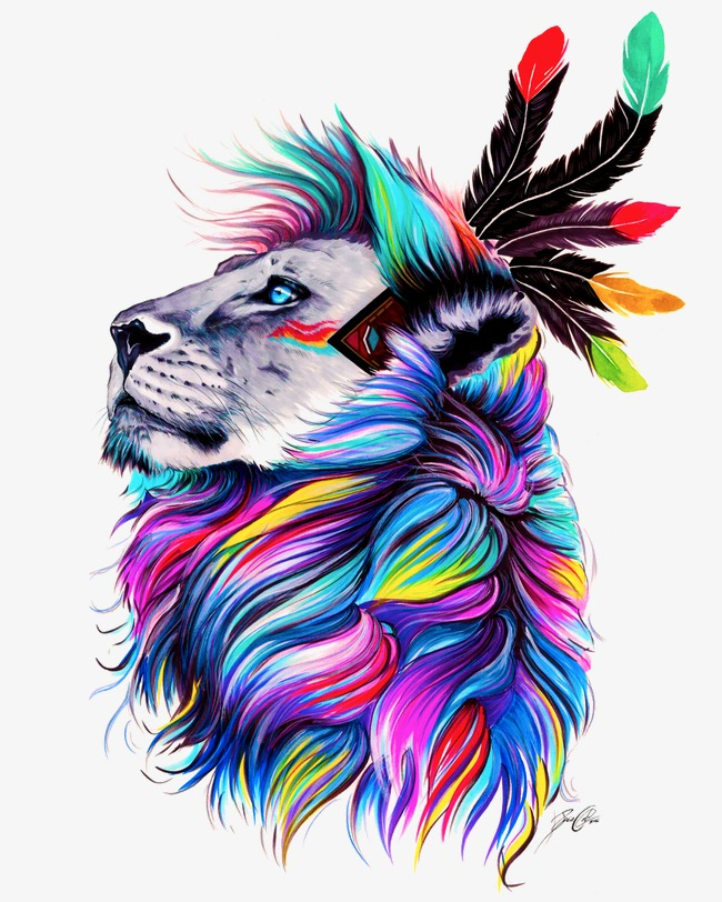 650x812 Lion, Painted Lion, Lions Head, Drawing Lion Png Image And Clipart