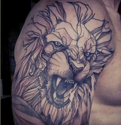 496x512 55 Brilliant Lion Tattoos Designs And Ideas