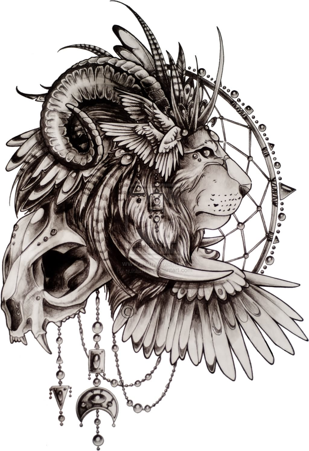 1024x1493 82 Famous Lion Tattoo Design Amp Sketches