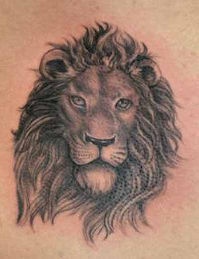 400x519 Lions Head Tattoos High Quality Photos And Flash Designs Of Lions