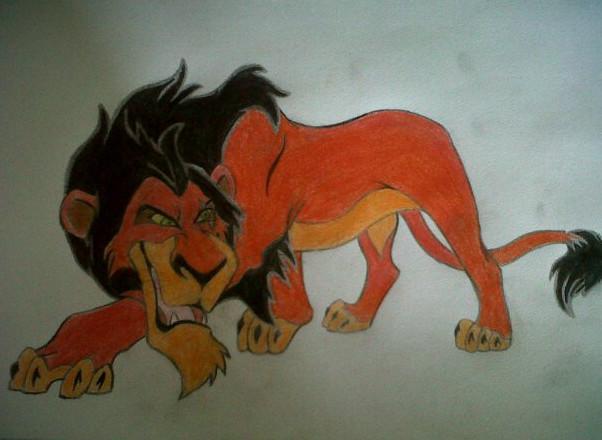 602x440 Scar Lion King By Zombiegirl64