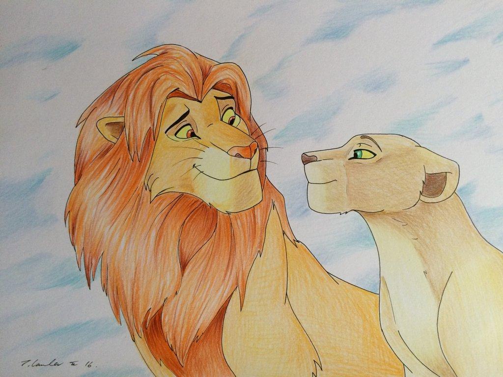 1024x768 The Lion King Drawings The Lion King Pencil Drawingbillyboyuk