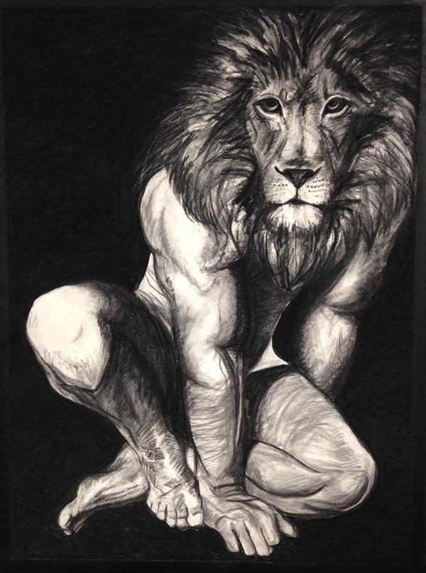 600x807 Lion Man On Scad Portfolios