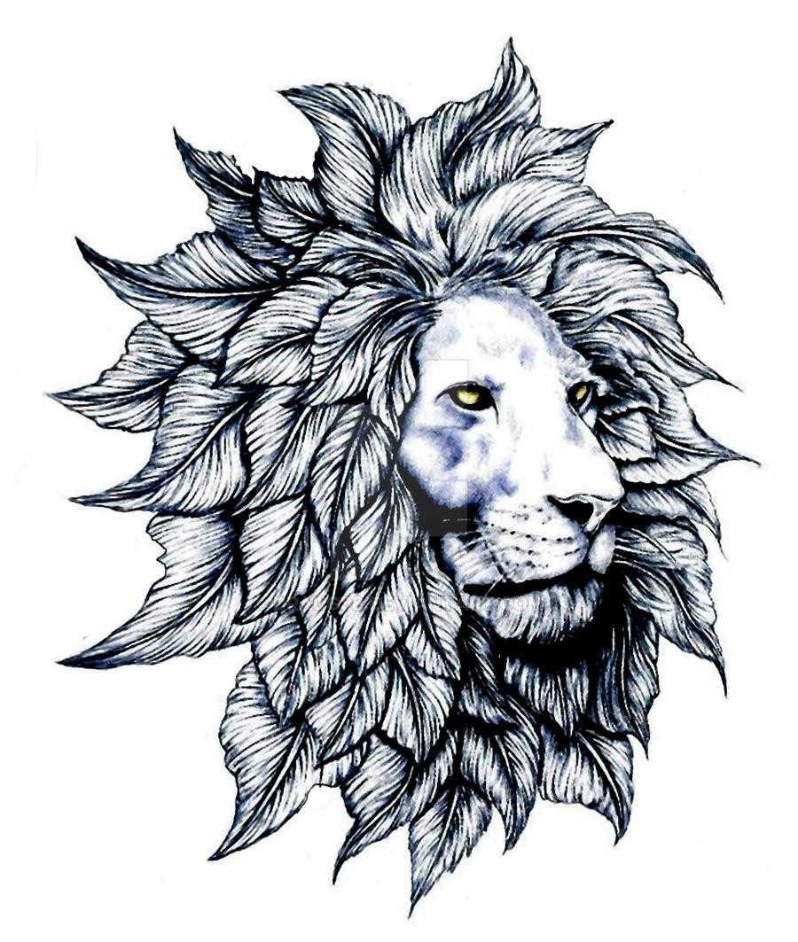 900x1063 Rev Lion With Leaf Mane Dark By Draug88