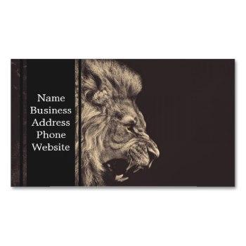350x350 Lion Roaring Business Cards Business Cards 100