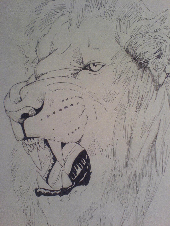 1024x1365 roar tattoo by tribalwolfie