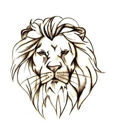 372x410 Lion Head Wall Sticker Wall Sticker, Lions And Walls