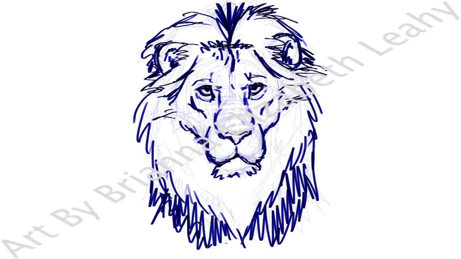 1600x900 Lion Pencil Draw Simple Tattoo Simple Lion Head Tattoo Tattoo