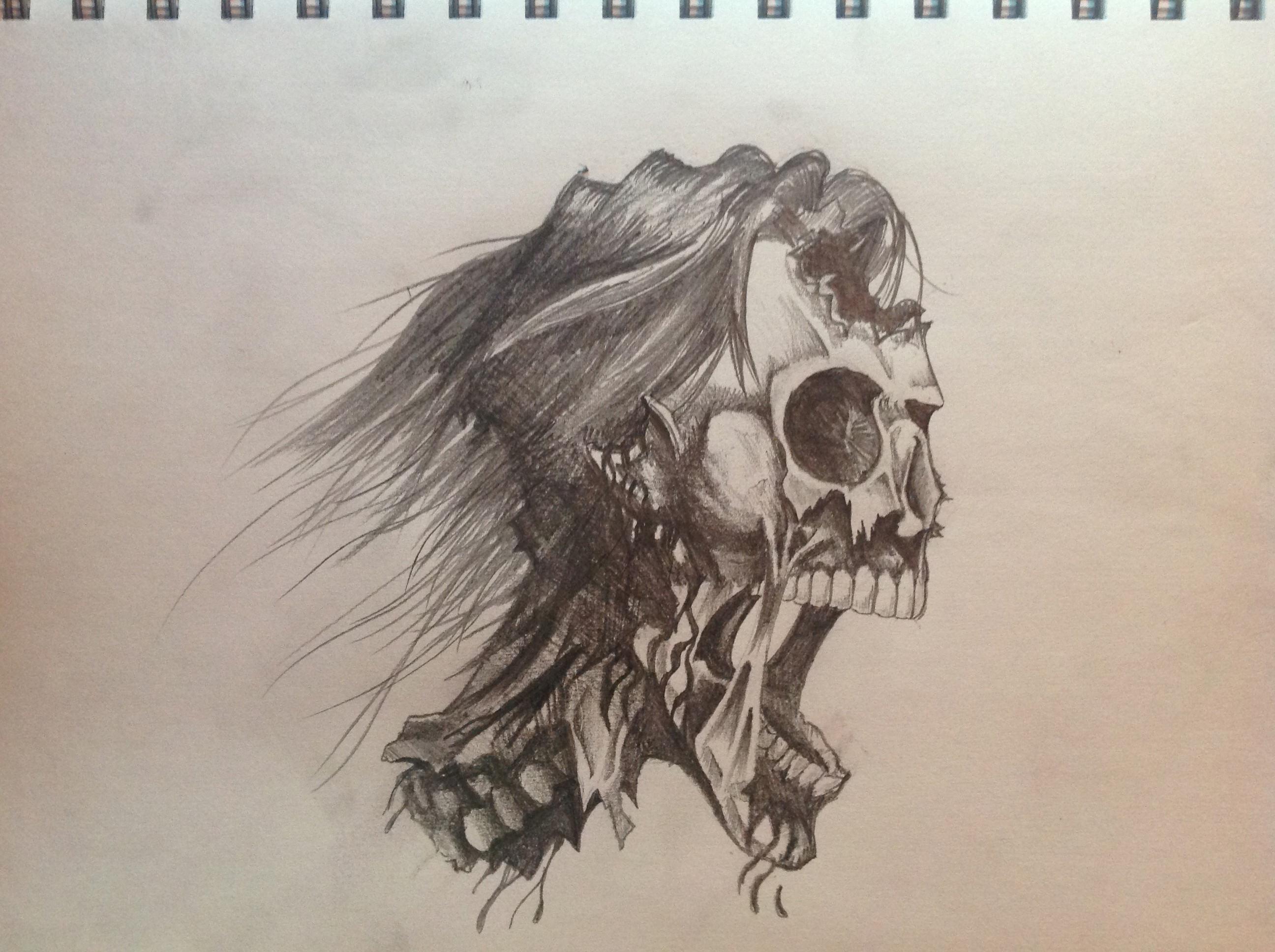 2592x1936 Skull Drawings, Art Ideas Design Trends