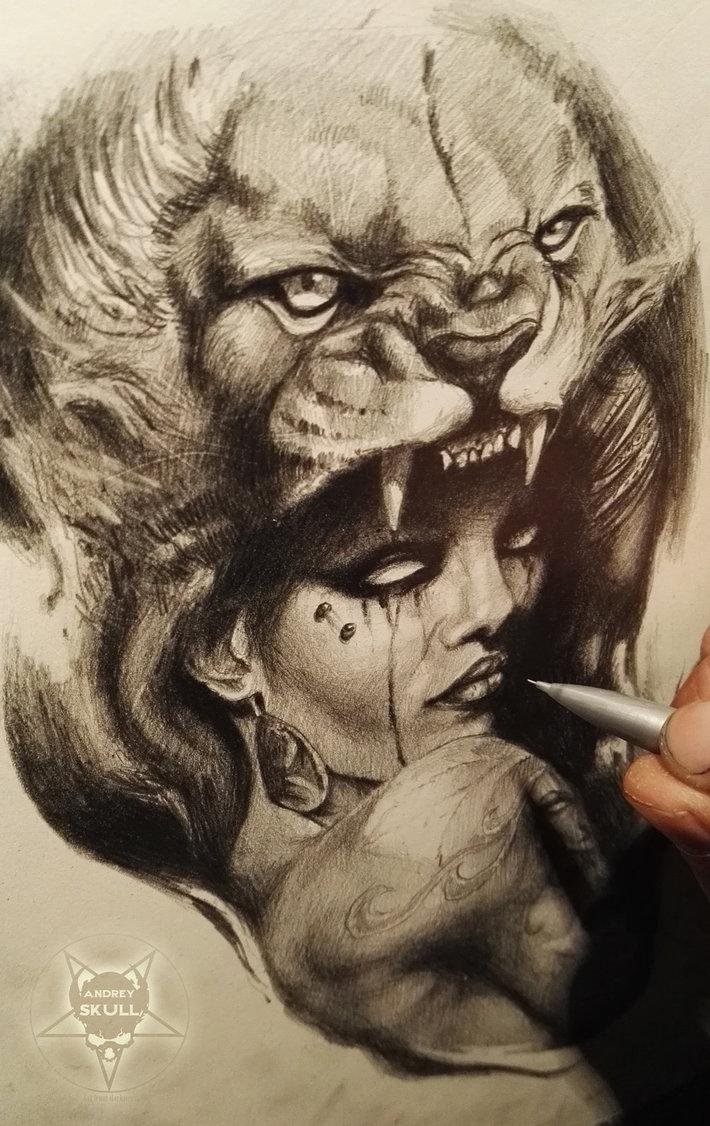 710x1126 Lion Skin By Andreyskull